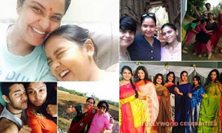 Pragathi Actress Family Husband Parents children's Marriage Photos