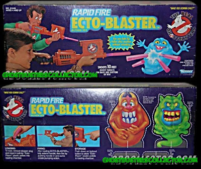Kenner The REAL Ghostbusters Rapid Fire Ecto-Blaster Roleplay Toy