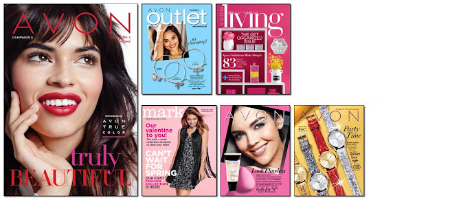 Avon Campaign 5 becomes active online to shop on 2/4/17 - 2/17/17. Click on image or here >>>