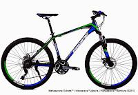Sepeda Gunung Pacific Vigilon 5.0 Rangka Aloi 26 Inci