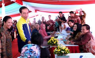 Jokowi Resmikan Rumah DP 1 Persen di Kaltim