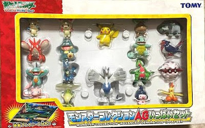 Pokemon figure Tomy Monster Collection AG figures 18pcs Set