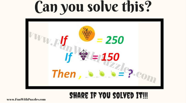 Kids' Maths Equations Brain Teaser