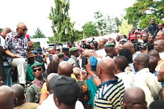 Workers block Mimiko, reject gov's plea to end strike