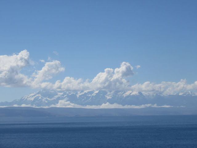 Bergkette am Titicaca