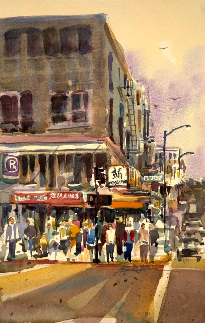 Современный американский художник. William Dunn