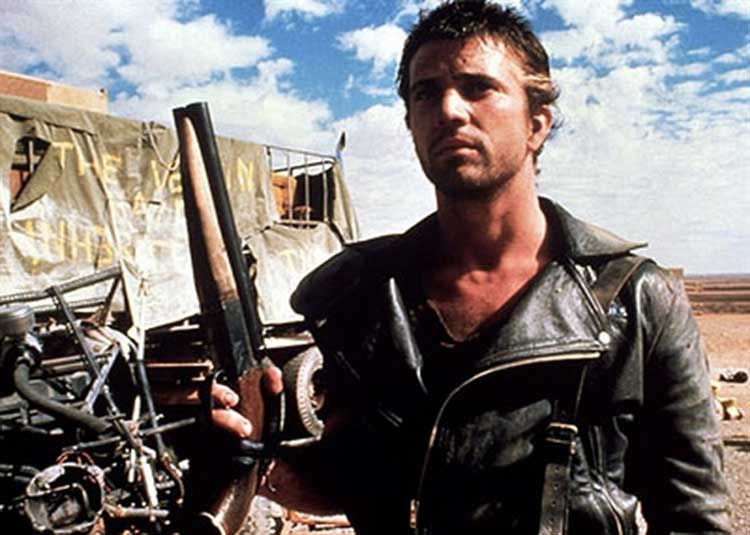 Mel Gibson stars as Mad Max in The Road Warrior.