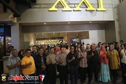 Polres Sukabumi menggelar nonton bareng di Cinema XXI Mall Botani Square Bogor