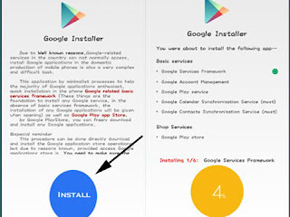 google installer play services