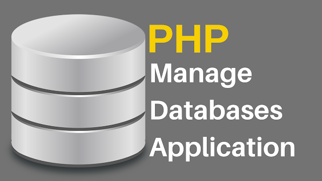PHP Databases Management System