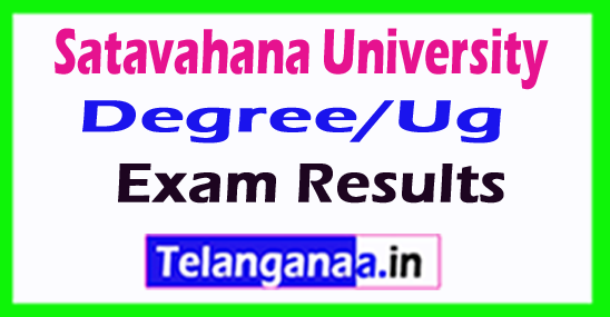 Satavahana University Degree/Ug Exam Results