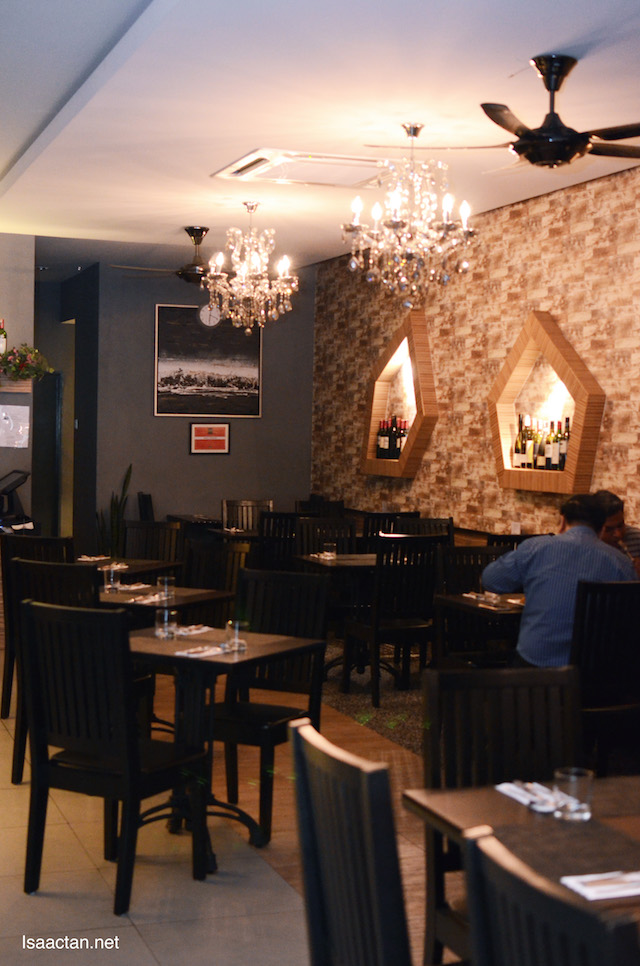 Beautiful, comfy and nice decor of Maria's Steak Cafe