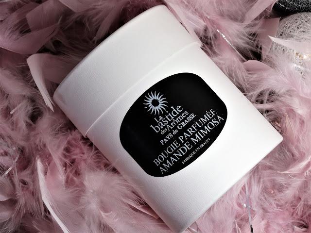 Avis Amande Mimosa de La Bastide des Arômes, blog bougie, blog parfum, blog beauté