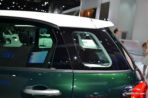 Fiat 500L Polycarbonate Window