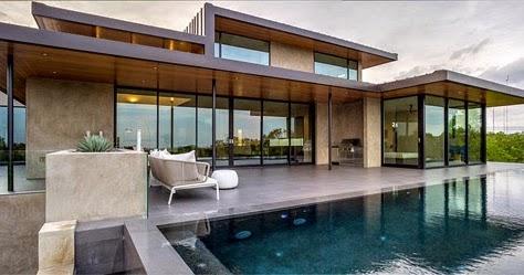 Casas minimalistas y modernas casa de hormigon moderna en for Casa moderna hormigon