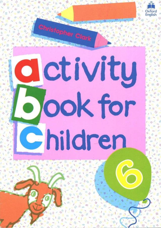 Activity Book For Children 6.