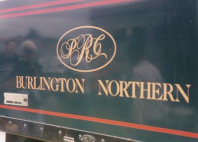 Burlington Northern F9-2 BN-1 Herald