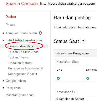 Cara mudah melihat keyword blog teratas di Google
