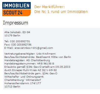 scout 24 berlin impressum