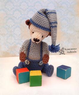 вязаная игрушка ручной работы, hand made, crochet
