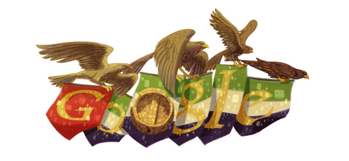 Google Doodle for 41st UAE National Day