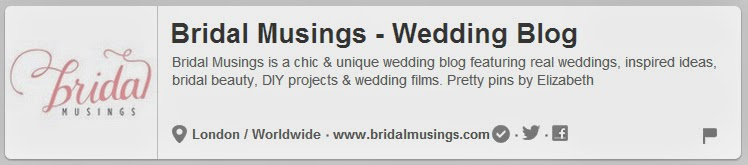 Wedding Pinterest Boards to follow | Bridal Musings | DollfaceBlogs