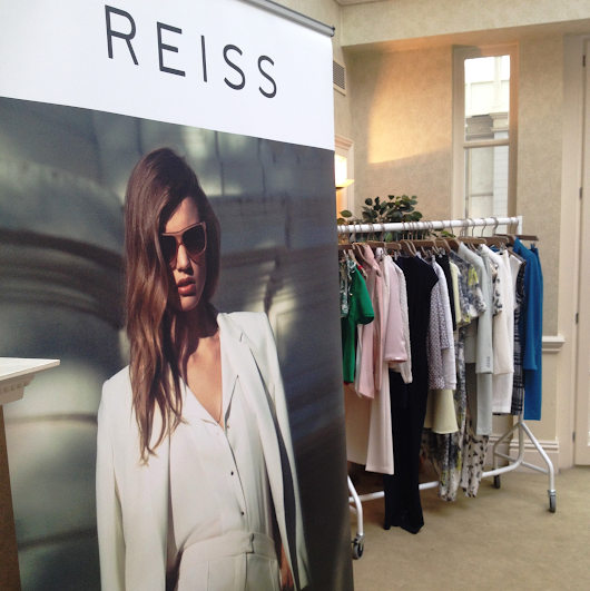 Afternoon Tea with Reiss: Spring/Summer 2014