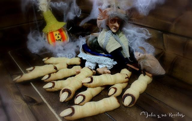 Dedos de bruja. Julia y sus recetas