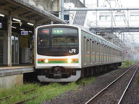 【いまだ健在!】幕車の宇都宮線 小金井行き 205系600番台幕車