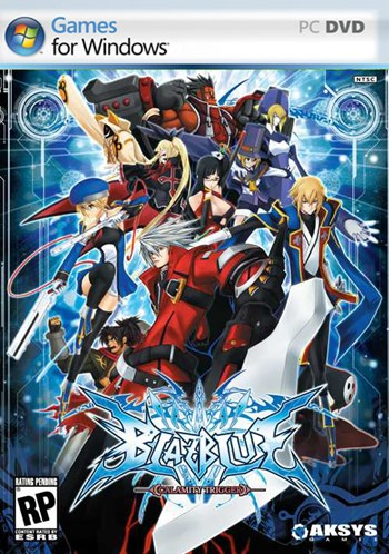 BlazBlue Calamity Trigger PC cover