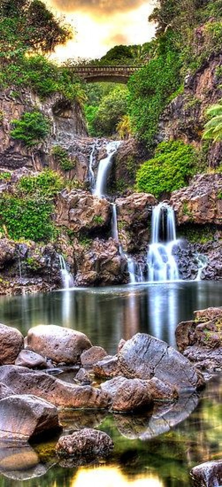Sizzling Tourist Hotspots in Hawaii | The pools at Oheo, Haleakala National Park, Maui, Hawaii