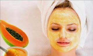 Cara Memutihkan Wajah dengan masker pepaya