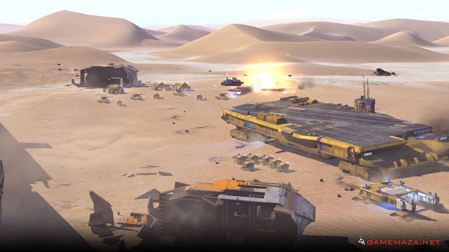 Homeworld Deserts Of Kharak Gameplay Screenshot 2