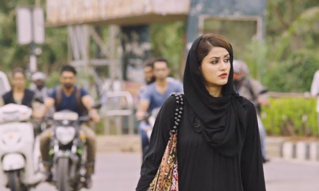 Aditi arya latest stills in burkha from ism movie