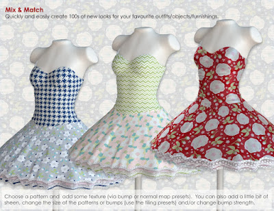 FabTex Pattern Iray Shaders: Camellia