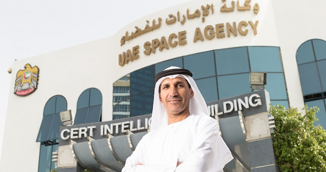 Mohammad Al Ahbabi, the Director General of UAE Space Agency. Credit: UAE Space Agency.