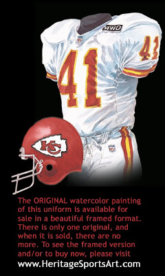 Kansas City Chiefs 1992 uniform