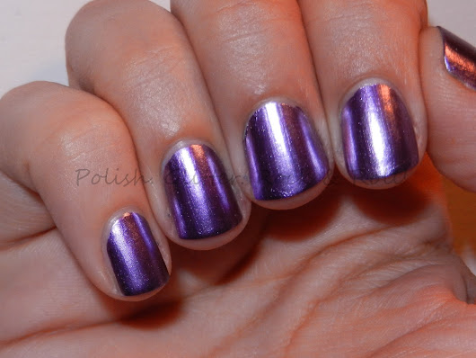 Polish. Glitter. Rock & Roll!: Sally Hansen Purple Alloy