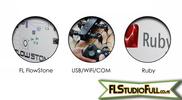 FL Studio 11 - Atualização de Plugins - FL FlowStone, USB-Wifi-COM, Ruby