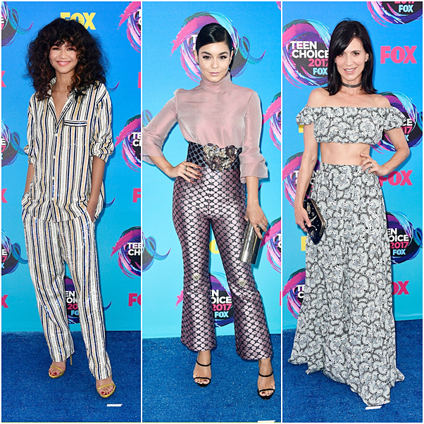 TEEN CHOICE AWARDS 2017 looks