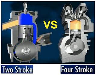 Perbedaan Mesin 2 Tak dan 4 Tak