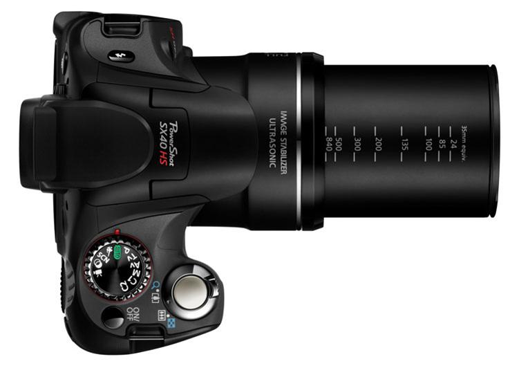 Canon PowerShot SX40 HS Super Zoom camera