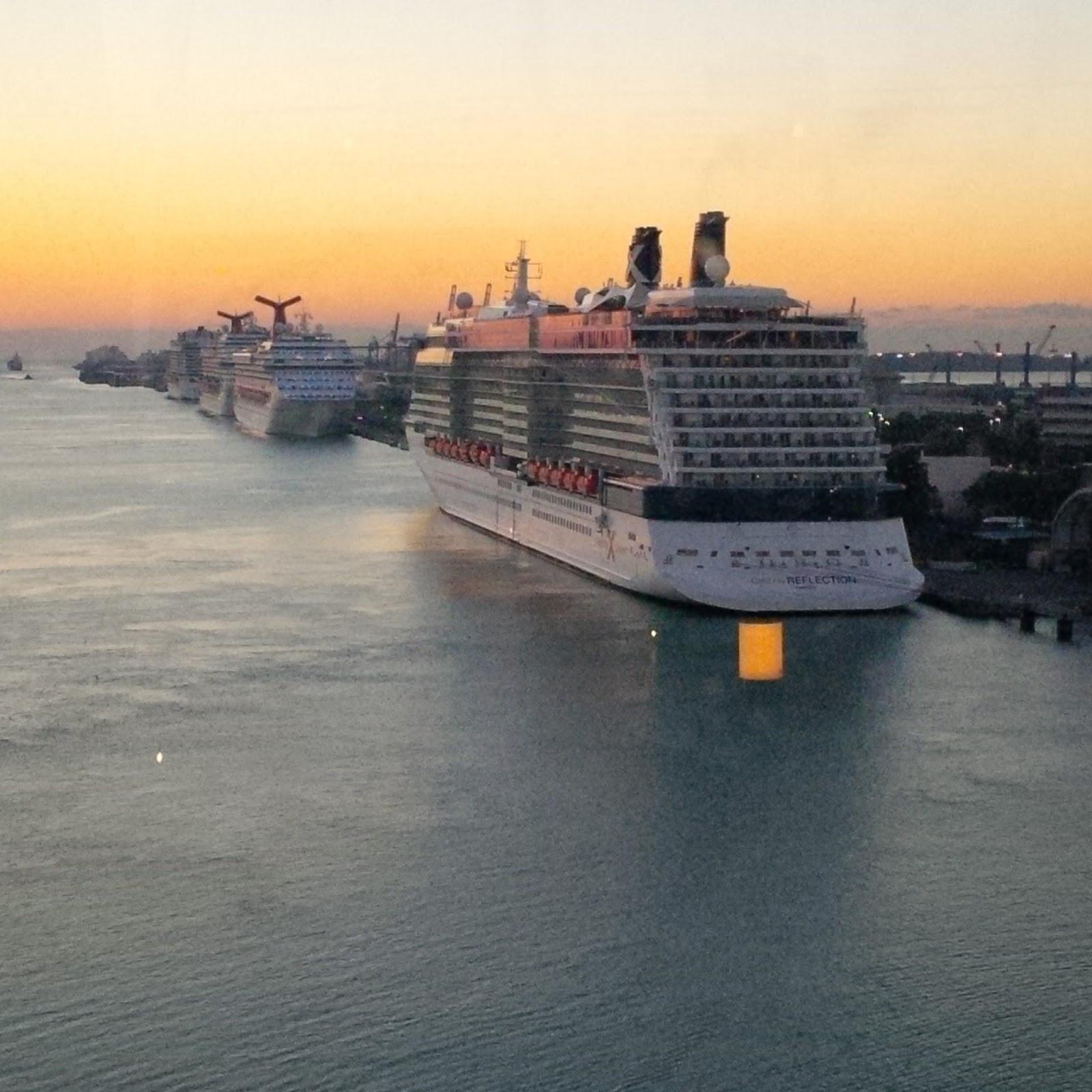 Miami Port: Cruise Diva: Port Of Miami Tunnel Opens