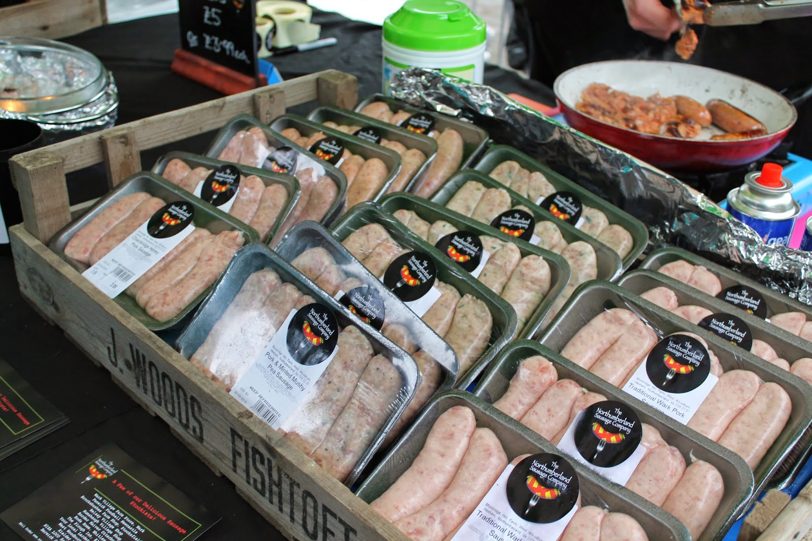 Bishop Auckland Food Festival 2014 - Northumberland Sausage Co.