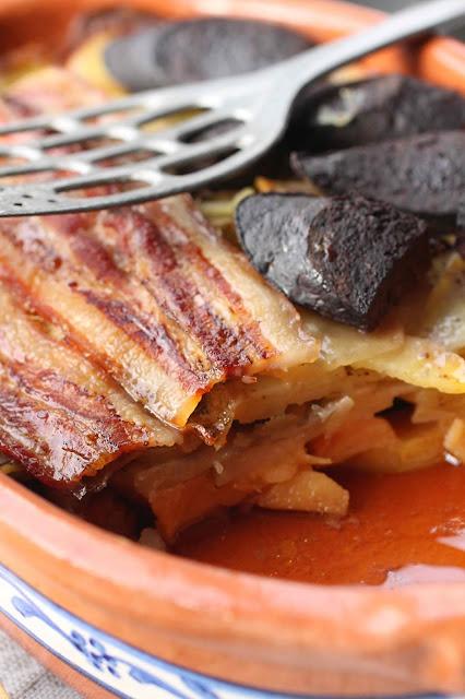 recette coings et porc au four