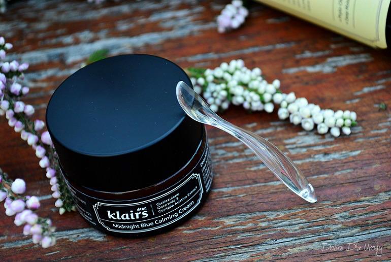 Dear Klairs Midnight Blue Calming Cream - Nawilżająco-łagodzący krem