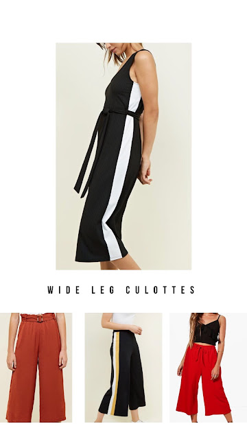 My Top 3 Summer 2018 Fashion Trends - Wide Leg Culottes | The Beauty is a Beast