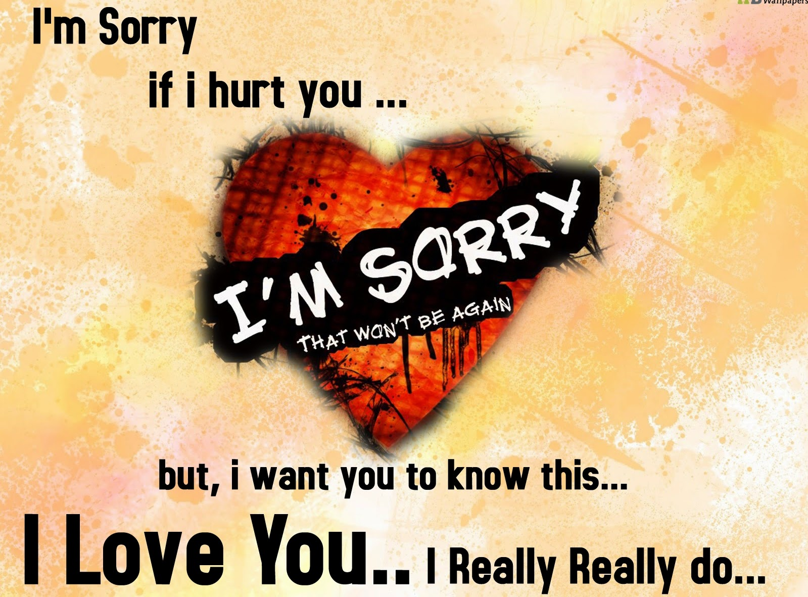 Being Sorry Quotes - Whatsapp