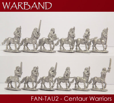 FAN-TAU2 - 12 x Centaur Warriors
