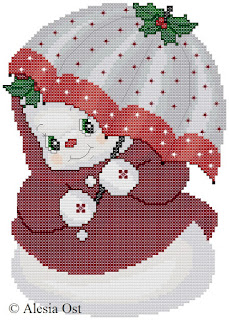 Free cross-stitch patterns, My Fair Snowlady, Snowlady, snowman, winter, Christmas, clipart, cross-stitch, back stitch, cross-stitch scheme, free pattern, x-stitchmagic.blogspot.it, вышивка крестиком, бесплатная схема, punto croce, schemi punto croce gratis, DMC, blocks, symbols, patrones punto de cruz, #crossstitch_pattern, #crossstitch